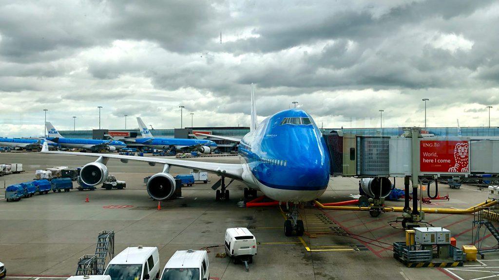 Jumbo Jet der KLM