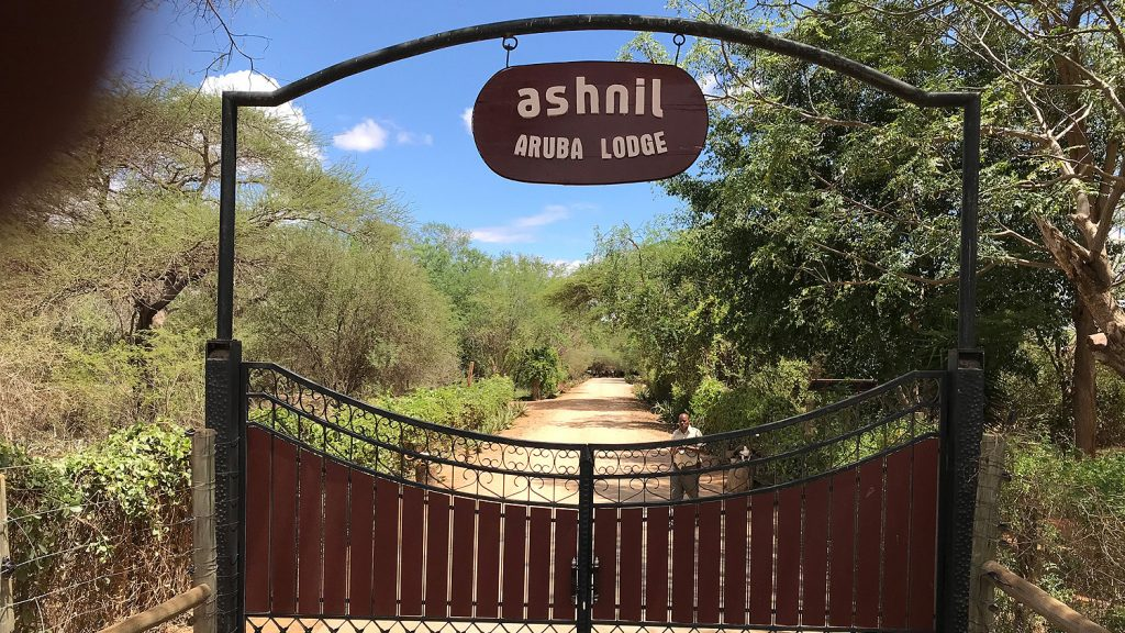 Ashnil Aruba Lodge Tsavo East - Entry Gate