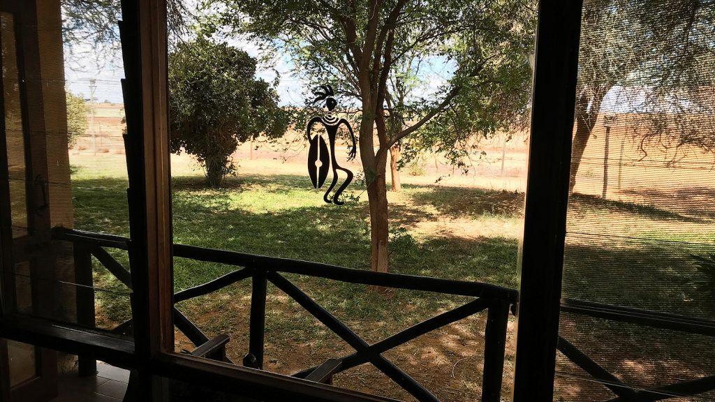 Ashnil Aruba Lodge Tsavo East - Blick vom Balkon