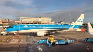 KLM Cityhopper in Amsterdam Schiphol
